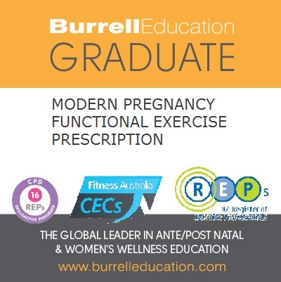 Burrell Education / IntoYou Functional Pregnancy Prescription Graduate